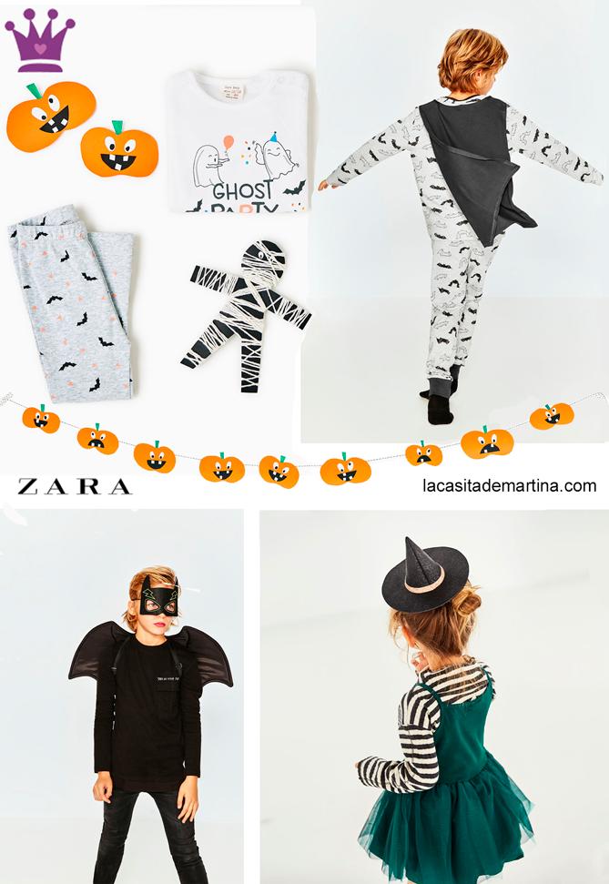 Disfraces Halloween, Blog moda infantil, Zara, La casita de Martina