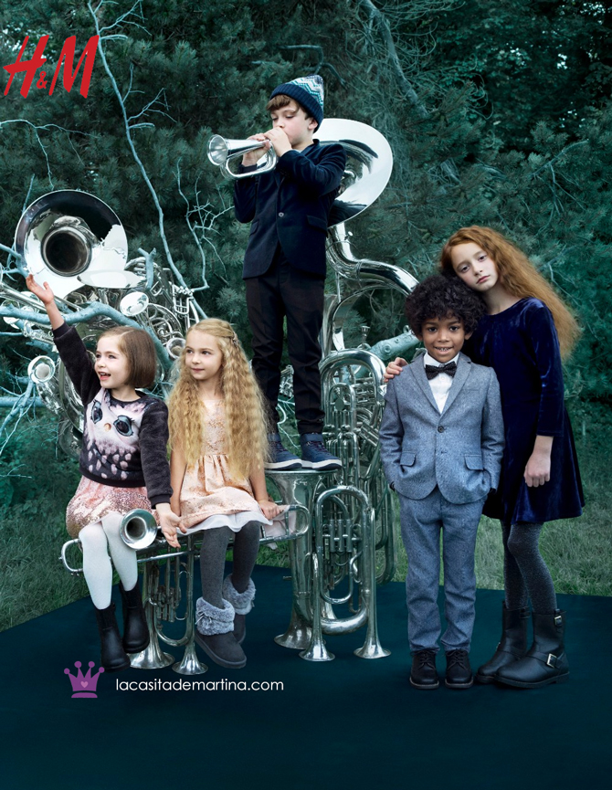 HM moda infantil, Coleccion Navidad, Blog de Moda Infantil, La casita de Martina, 2