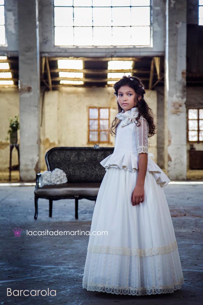 Barcarola, Trajes comunion 2018, Vestidos comunion, La casita de Martina, Blog Comuniones