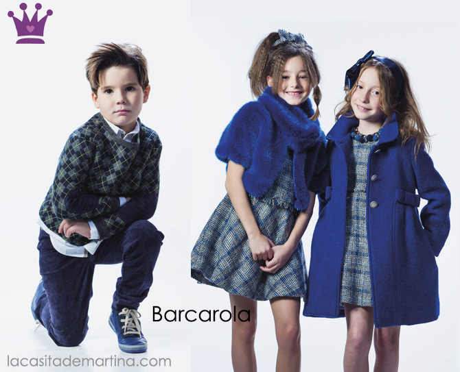 Barcarola, Blue Monday, Blog Moda Infantil, La casita de Martina, Ropa Infantil, Tendencias, Moda, Kids Wear
