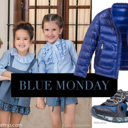 Blue Monday, Blog Moda Infantil, La casita de Martina, Ropa Infantil, Tendencias, Moda, Kids Wear