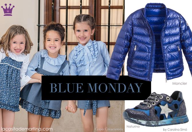 Copo Creaciones, Naturino, Moncler, Blue Monday, Blog Moda Infantil, La casita de Martina, Ropa Infantil, Tendencias, Moda, Kids Wear