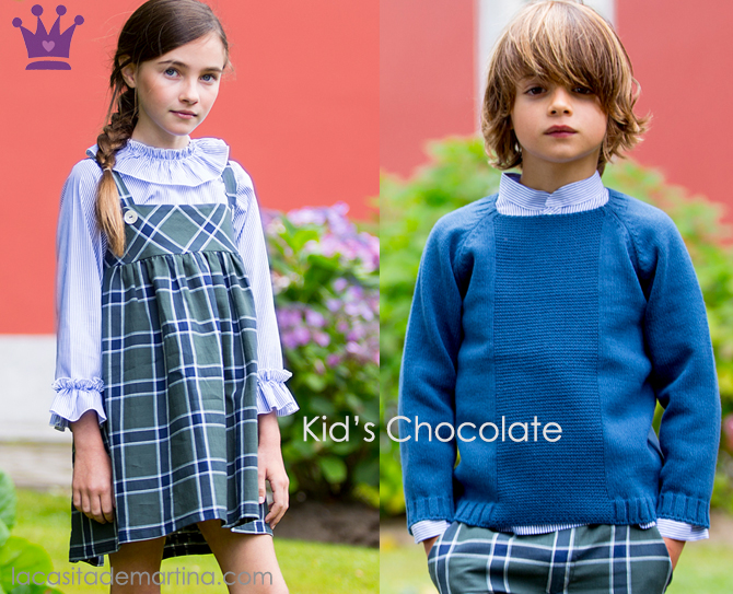 Kids Chocolate, Blue Monday, Blog Moda Infantil, La casita de Martina, Ropa Infantil, Tendencias, Moda, Kids Wear