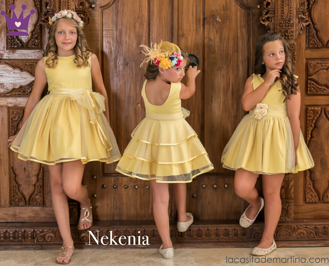 Nekenia, Moda infantil, La casita de Martina, Carolina Simo