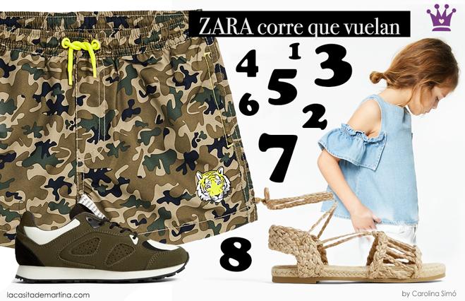 Zara moda infantil, los mas vendidos de Zara, Blog de moda infantil, kids wear, la casita de Martina