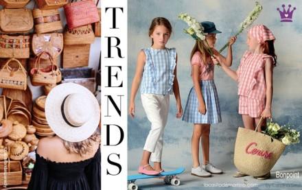 Bolso redondo de mimbre, Tendencias moda, Blog moda infantil, La casita de Martina