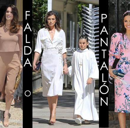 Vestidos famosas Comunion, invitada perfecta comunion, la casita de Martina, traje comunion, Paula Echevarria, Mar Flores, Nieves Alvarez