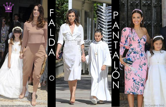Vestidos famosas Comunion, invitada perfecta comunion, la casita de Martina, traje comunion, vestido comunion