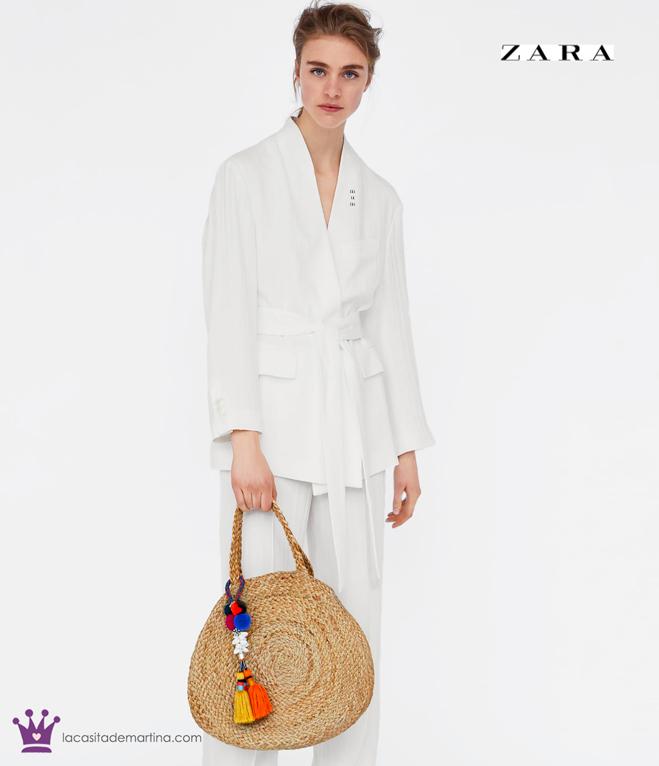 Bolso redondo de mimbre, Tendencias moda, Blog moda infantil, La casita de Martina, Zara