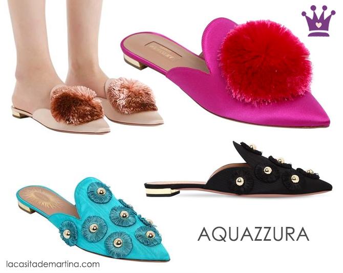 Aquazzura, Tendencias calzado, mules, regalos dia de la madre, regalos originales, blog de moda infantil