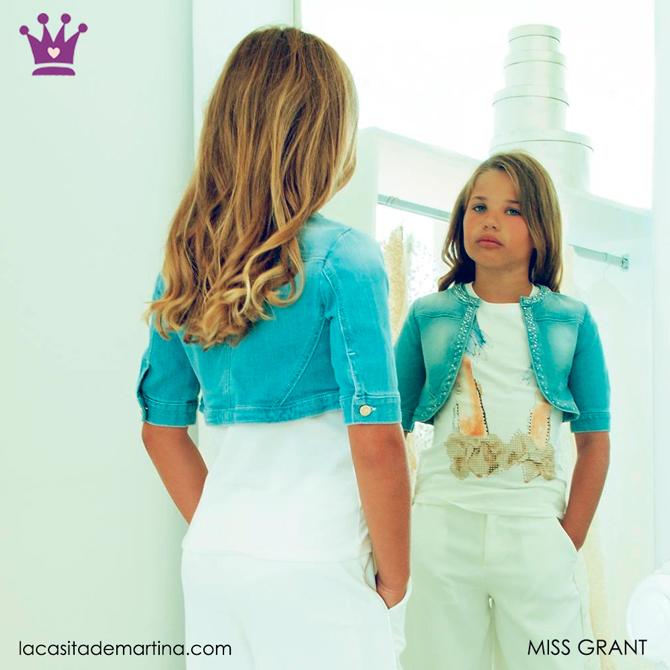 Blog de Moda Infantil, Ropa infantil, tendencias moda infantil, cazadora vaquera, La casita de Martina, Miss Grant