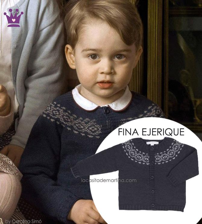Louis de Cambridge, Ropa principes George Carlota Louise, Blog de moda infantil, Rebeca Fina Ejerique