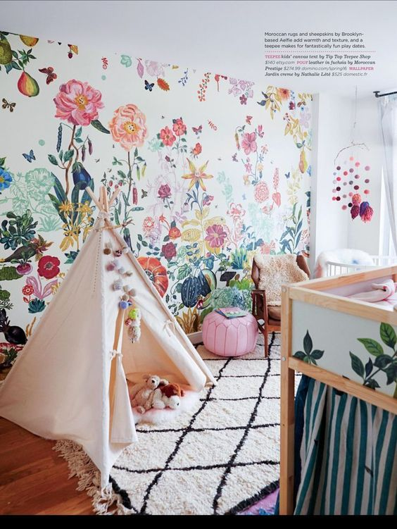 Papel pared cactus, Blog de moda infantil, La casita de Martina, 1