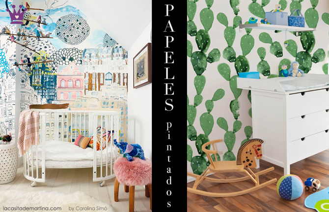 Papel-pared-cactus,---Blog-de-moda-infantil,-La-casita-de-Martina