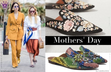 Tendencias calzado, mules, regalos dia de la madre, regalos originales, blog de moda infantil