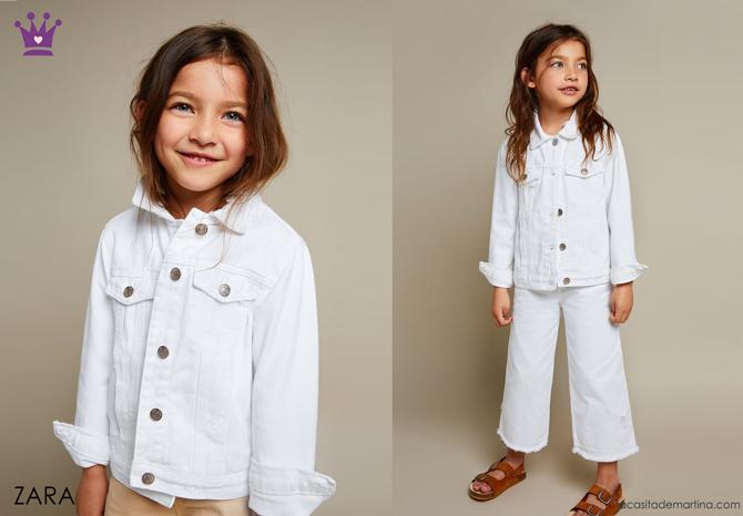 Blog de Moda Infantil, Ropa infantil, tendencias moda infantil, cazadora vaquera, La casita de Martina, Zara kids