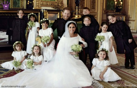 Pajes, arras, damitas, moda infantil, boda Megan y Harry
