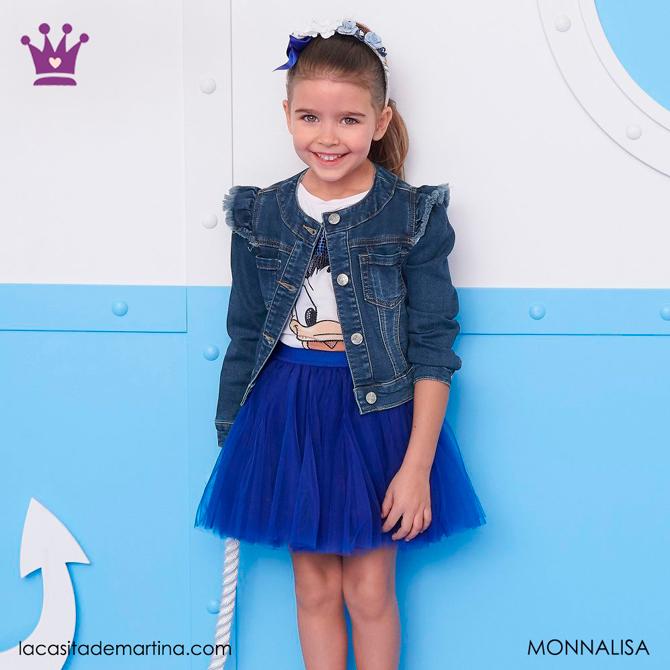 Blog de Moda Infantil, Ropa infantil, tendencias moda infantil, cazadora vaquera, La casita de Martina, Monnalisa