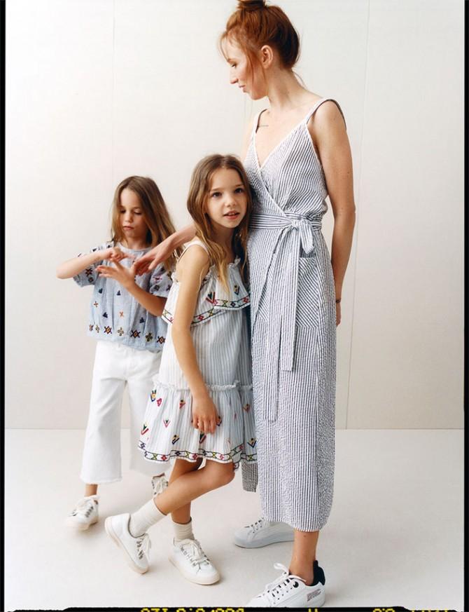 Marca de moda infantil, Blog de moda infanti, La casita de Martina, Vestir igual que mama, Zara kids