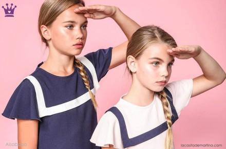 Blog de moda infantil, vestido de rayas, estilo marinero, marcas moda infantil, la casita de martina, Aisabobo
