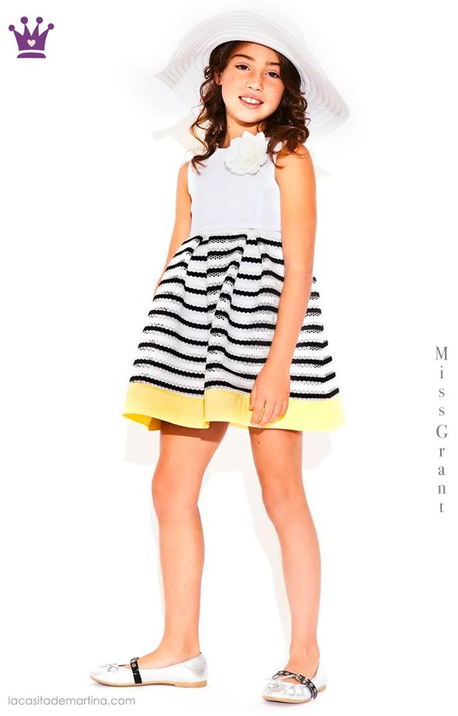 Blog de moda infantil, vestido de rayas, estilo marinero, marcas moda infantil, la casita de martina, Miss Grant
