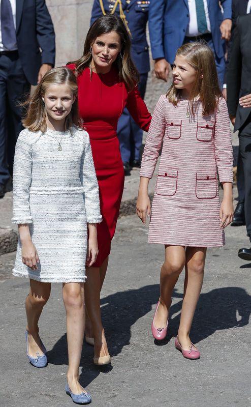 Leonor y Sofia, vestido princesa Leonor, marca vestido infanta Sofia