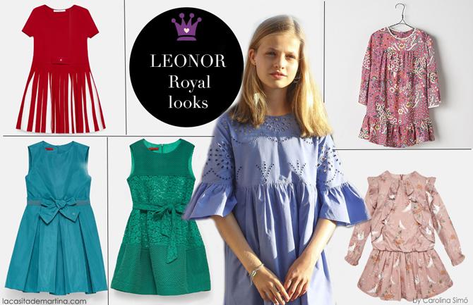 Leonor y Sofia, vestido Leonor, infanta Sofia, Blog moda infantil, La casita de Martina