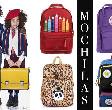 Mochilas, vuelta al cole, blog moda infantil, la casita de martina