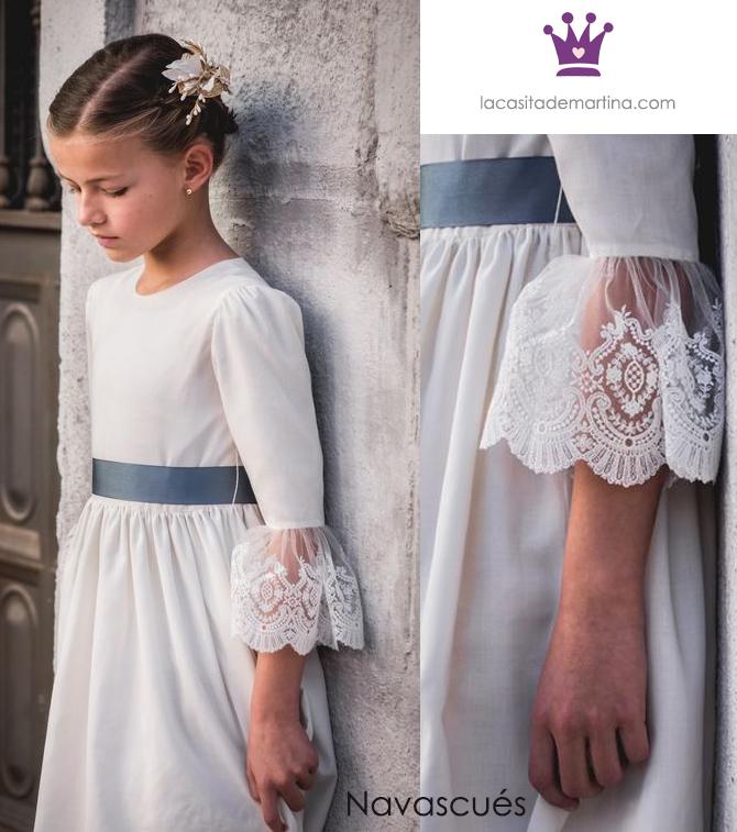 Vestidos comunion 2019, trajes comunion Navascues, Blog Comuniones, La casita de Martina, 7