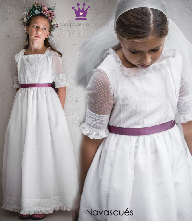 Vestidos comunion 2019, trajes comunion Navascues, Blog Comuniones, La casita de Martina, 4