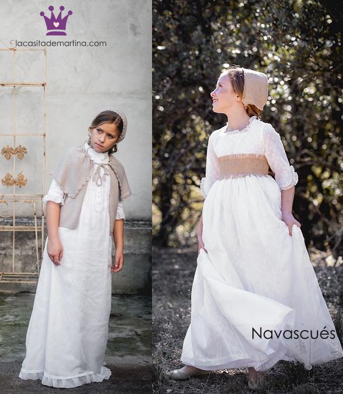 Vestidos comunion 2019, trajes comunion Navascues, Blog Comuniones, La casita de Martina, 2
