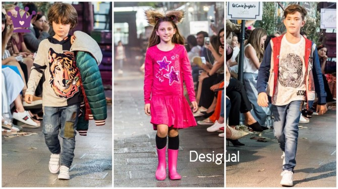 Desigual, blog moda infantil, The Petite Fashion Week, CharHadas,  Belen Junco, La casita de Martina