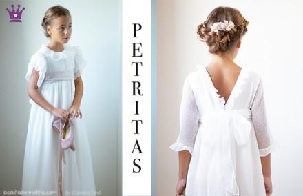 Vestidos comunion 2019, trajes comunion Petritas, Blog moda infantil, La casita de Martina, 2