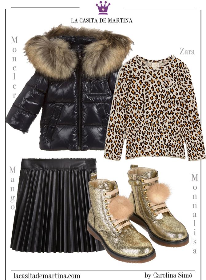 moncler, chaquetas moda infantil, blog de moda infantil, la casita de martina, zara kids, mango kids