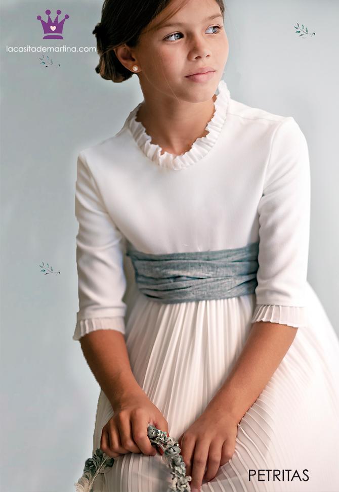 Vestidos comunion 2019, trajes comunion Petritas, Blog moda infantil, La casita de Martina, 5