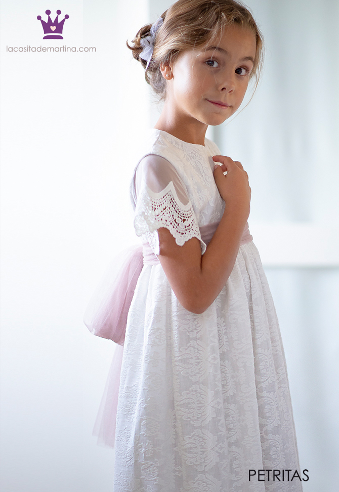 Vestidos comunion 2019, trajes comunion Petritas, Blog moda infantil, La casita de Martina, 6