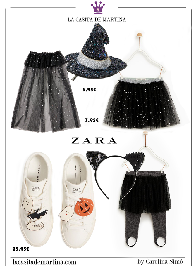 Disfraces baratos Halloween, disfraces originales halloween, blog moda infantil, la casita de Martina, zara, 2