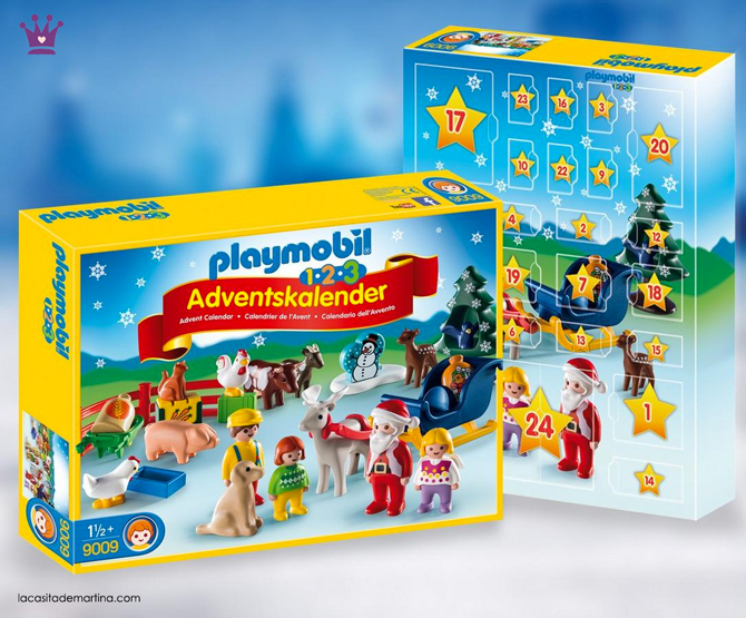 Calendarios adviento originales, calendario adviento Playmobil, la casita de martina, blog moda infantil, 1