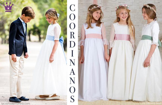 Vestidos de Comunion 2019, trajes de comunion baratos, blog comuniones, la casita de martina, Coordinanos