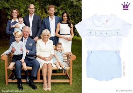 marca de la ropa de Charlotte, George, Louise de Inglaterra, royal family, la casita de martina, ropa de los principes