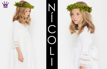 Nicoli, vestidos comunion, blog moda infantil, la casita de martina