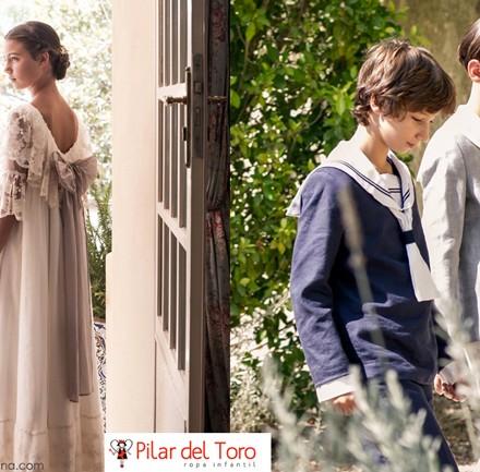 blog moda infantil, vestidos comunion, Pilar del Toro trajes comunion, Carolina Simo