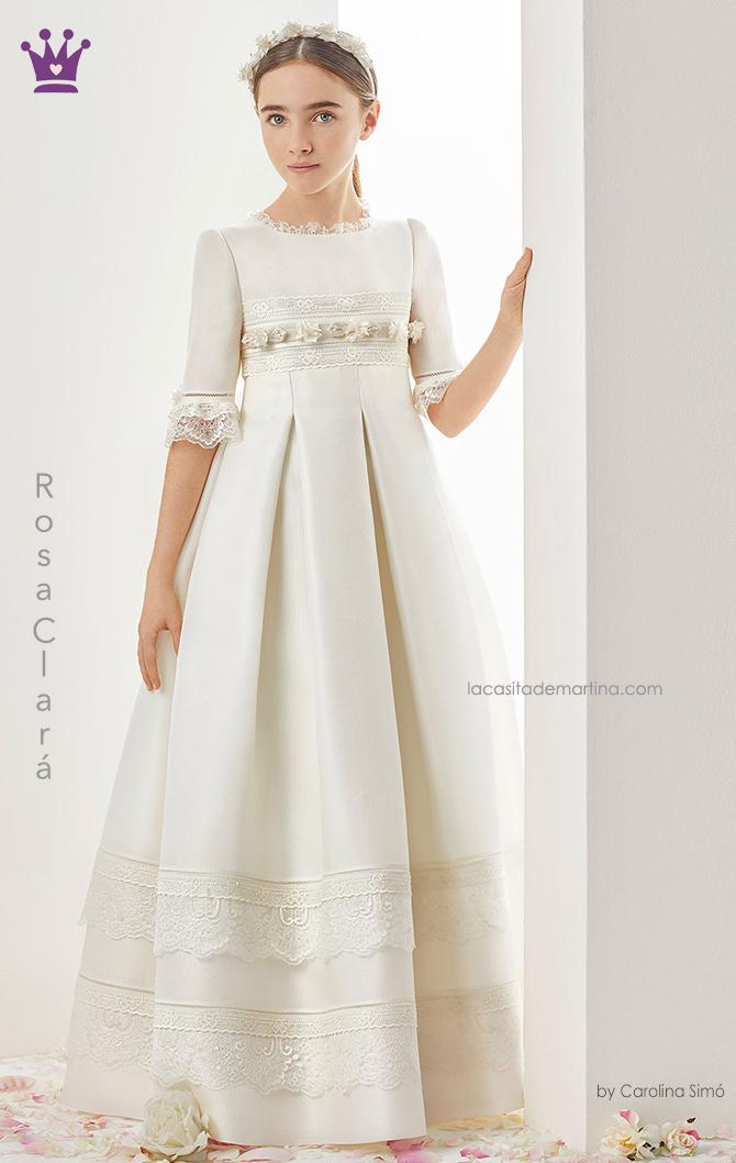 Rosa clara, vestidos comunion, trajes comunion 2019, blogs moda infantil, la casita de martina, 3