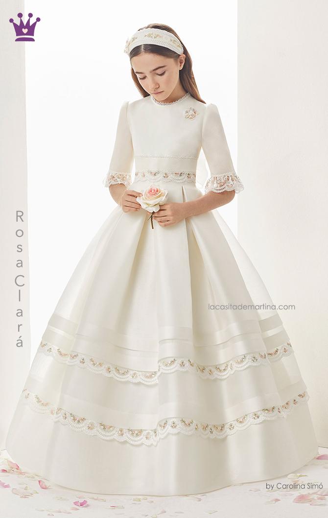 Rosa clara, vestidos comunion, trajes comunion 2019, blogs moda infantil, la casita de martina, 5