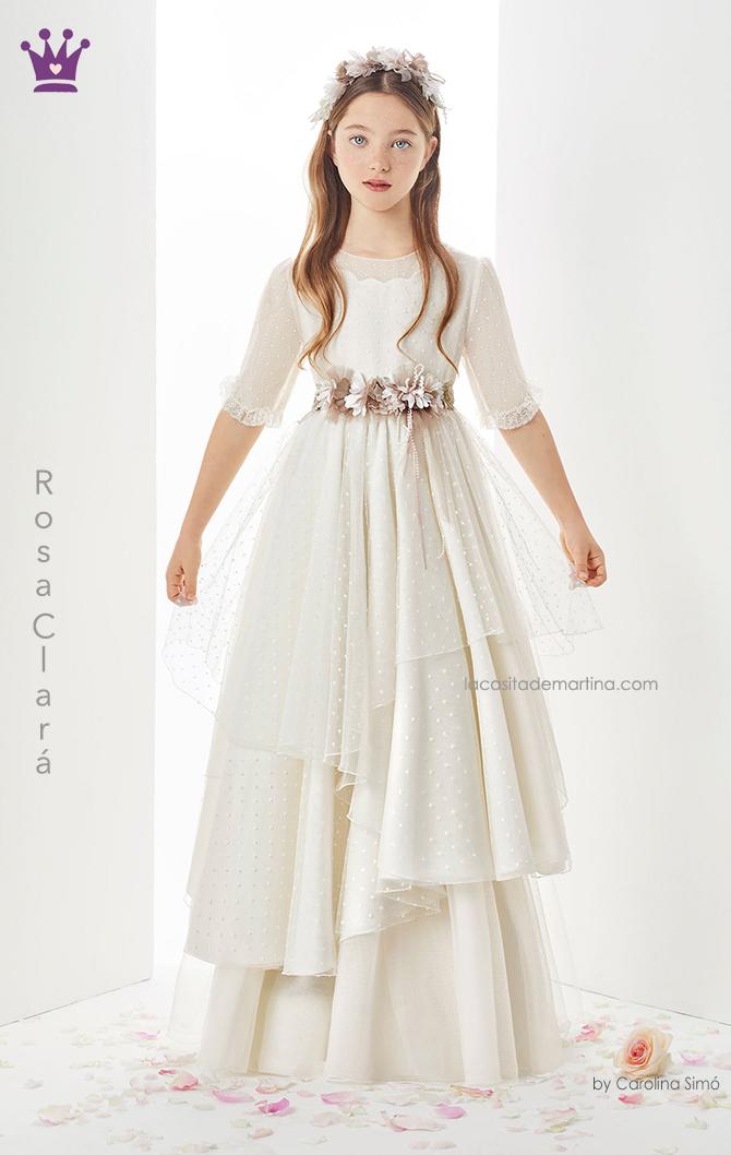 Rosa clara, vestidos comunion, trajes comunion 2019, blogs moda infantil, la casita de martina, 6