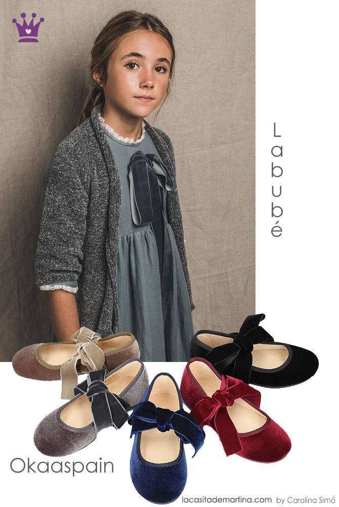 Blog moda infantil, Okaaspain, Labube, ropa infantil navidad, La casita de Martina