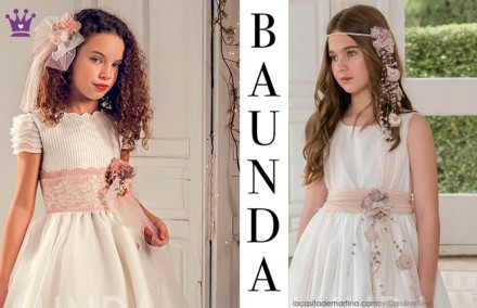 Baunda, tienda vestidos comunion Madrid, Trajes de comunion, blog moda infantil, la casita de martina