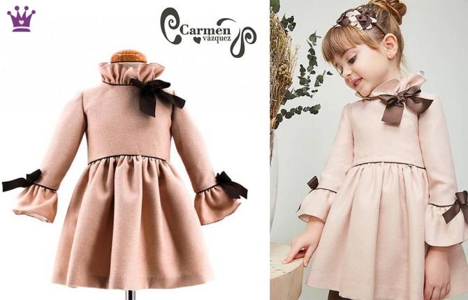 Blog moda infantil, Carmen Vazquez, la casita de Martina, vestido ninas, 1