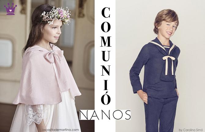 Vestidos de comunion, Nanos, blog de moda infantil, la casita de martina, 4