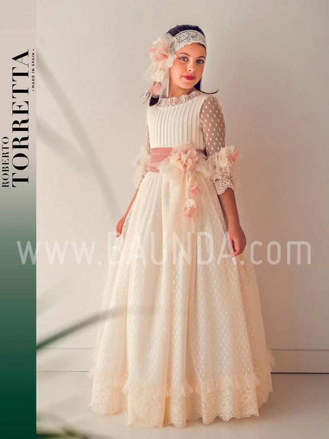 Baunda, tienda vestidos comunion Madrid, Roberto Torretta, Trajes de comunion, blog moda infantil, la casita de martina